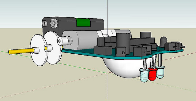 Image Credit- Asuro Chassis in Google SketchUp by hmblgrmpf from Flickr